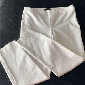 Talbots Chatham size 10 white ankle pants
